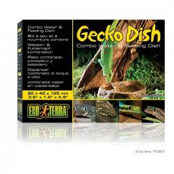 Bebedero y Comedero para Geckos - Exo-Terra Gecko Dish