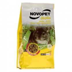 Alimento NovoPet para Chinchillas