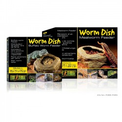 Comedero Exo-Terra Worm Dish para Alimento Vivo