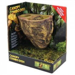 Exo-Terra Canopy Combo Dish - comedero y bebedero para reptiles