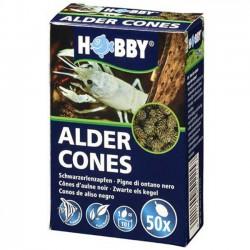 Hobby Alder Cones - piñas de aliso para acuarios