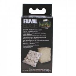 Foamex y Biomax para Fluval Edge