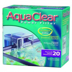 AquaClear 20 - filtro de mochila para acuarios