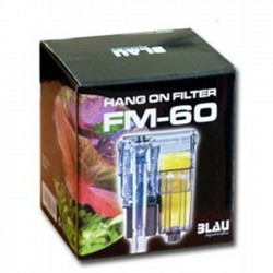 BLAU Hang On Filter FM-60 - filtro de mochila para nano acuarios
