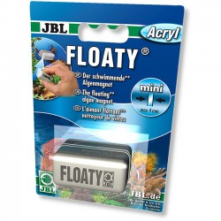 JBL Floaty Acryl Imán Limpiacristales para Acuarios