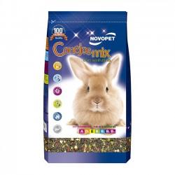 Alimento Novopet Premium Mix para Conejos Adultos