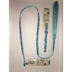 Correa y Collar Azul Camuflaje para Perros