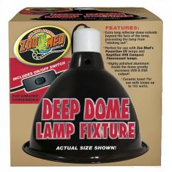 Portalámparas Zoo Med Deep Dome Lamp Fixture - portalámpara para terrarios