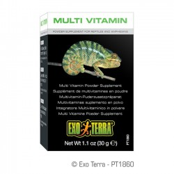 Exo-Terra Multivitaminas para Reptiles y Anfibios - 30 gr