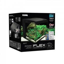 Acuario Fluval Flex de 34 litros - negro