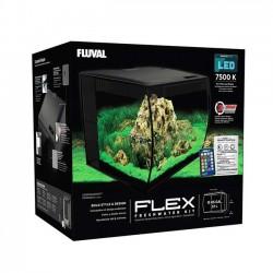 Acuario Fluval Flex de 57 litros - color negro