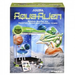 Marina Aqua-Alien GoldFish Kit - acuario para niños