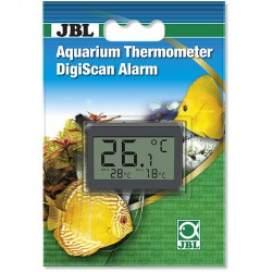 Termómetro digital JBL con función de alarma para acuarios