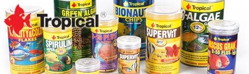 Comida tropical para peces exofauna for Comida para peces tropicales acuario